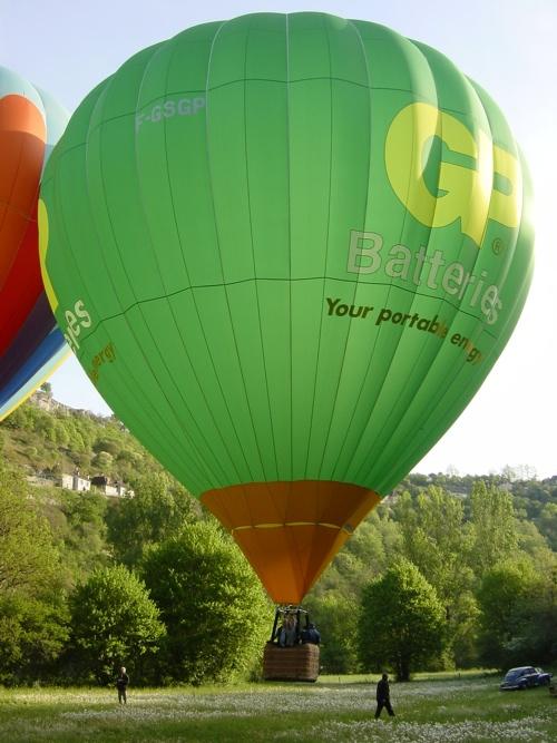montgolfiere a vendre